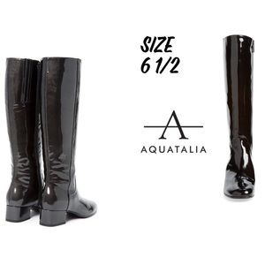 🆕Aquatalia Larkin Waterproof Patent Leather Boots
